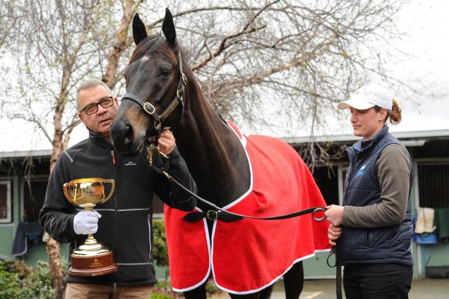 James surprised by mare's Melb Cup weight