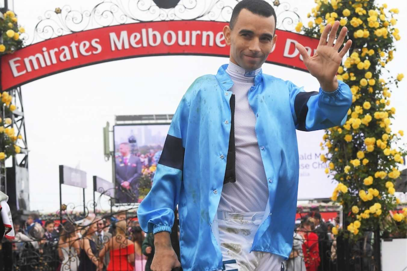 Horror Fall Overshadows Race 4 On Melbourne Cup Day