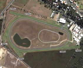 Coffs Harbour track map