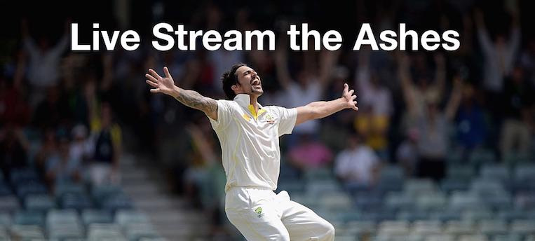 Live Stream the Ashes FREE Online