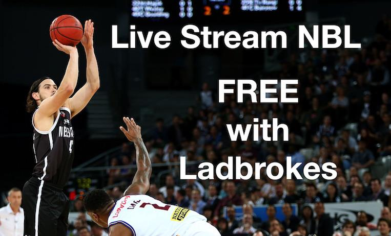 Live Stream NBL FREE with Ladbrokes!
