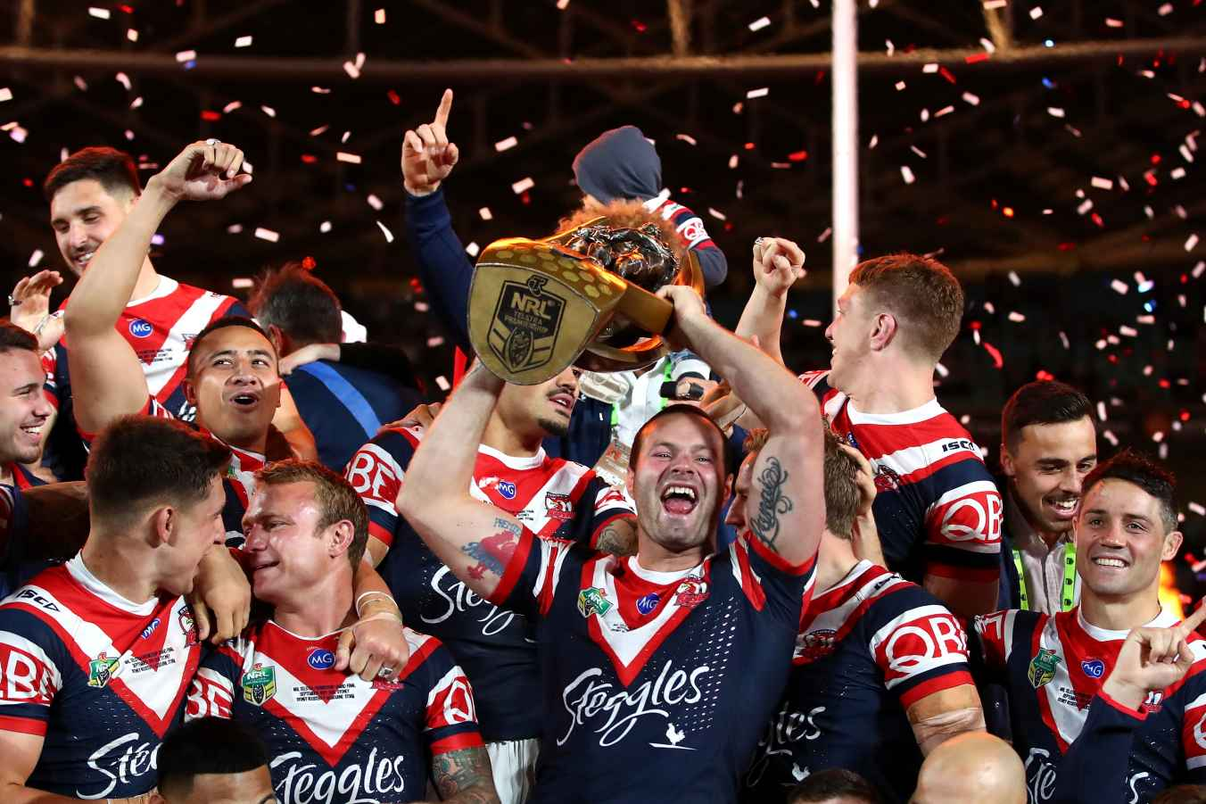Sydney Roosters crowned 2018 NRL champions
