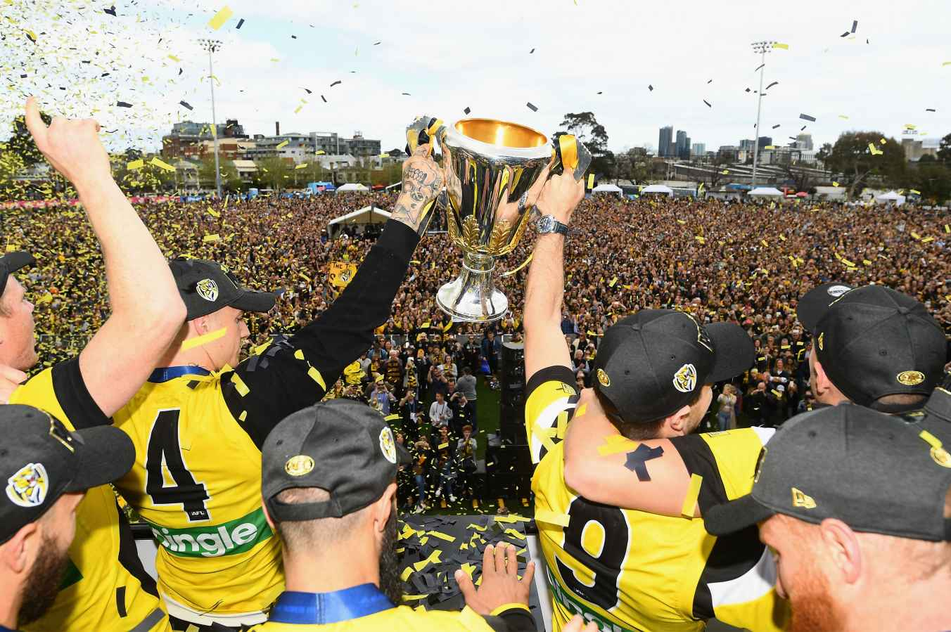 Richmond won the AFL crown in 2017