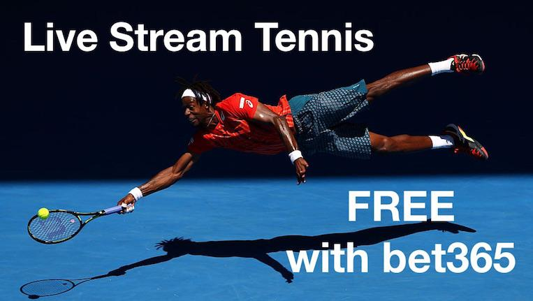Live Stream Tennis Free with bet365