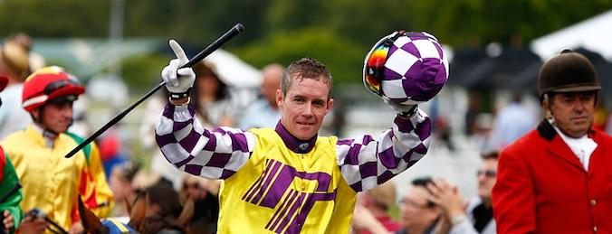 Mark Du Plessis Melbourne Cup Jockey