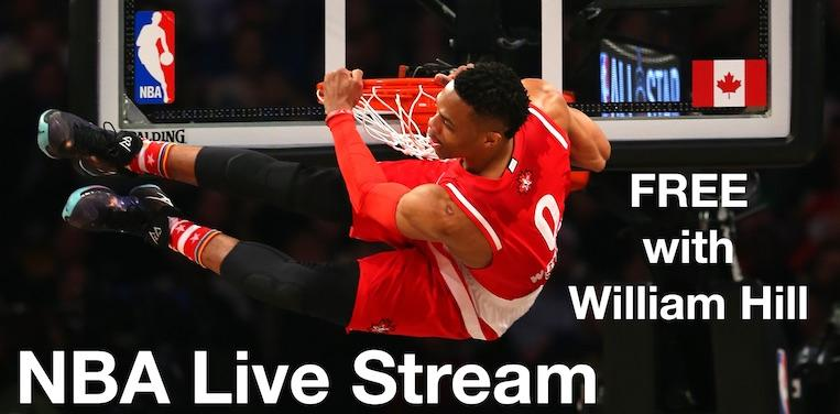Live Stream NBA FREE with William Hill