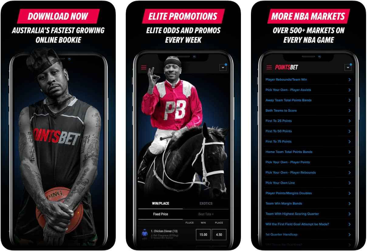 PointsBet Mobile App - Android and iOS