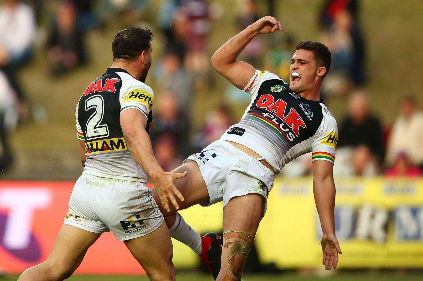 Nathan Cleary was involved in several close finishes for the Penrith Panthers