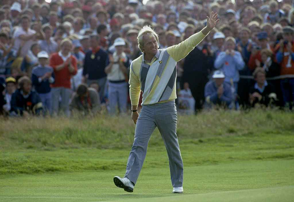 Greg Norman win the British Open in 1986