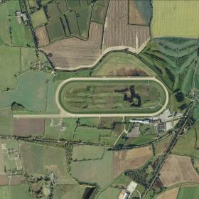 Southwell track map