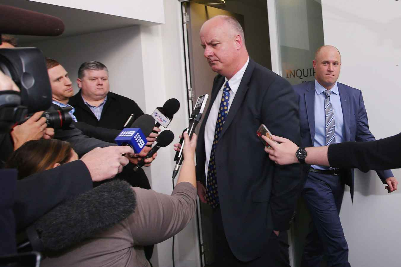 Three plead not guilty at cobalt hearing