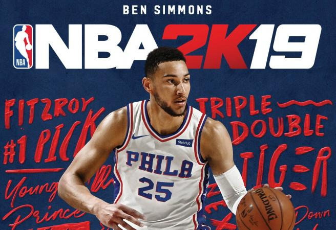 Ben Simmons to grace the cover of NBA 2K19