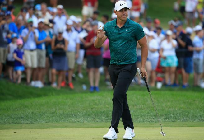 Brooks Koepka claims the PGA Championship title