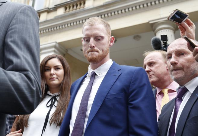 Ben Stokes cleared of criminal charges