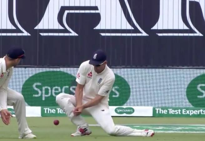 WATCH: England dropping plenty of catches