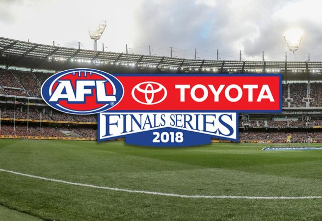 Fixturing for the first week of the AFL finals confirmed