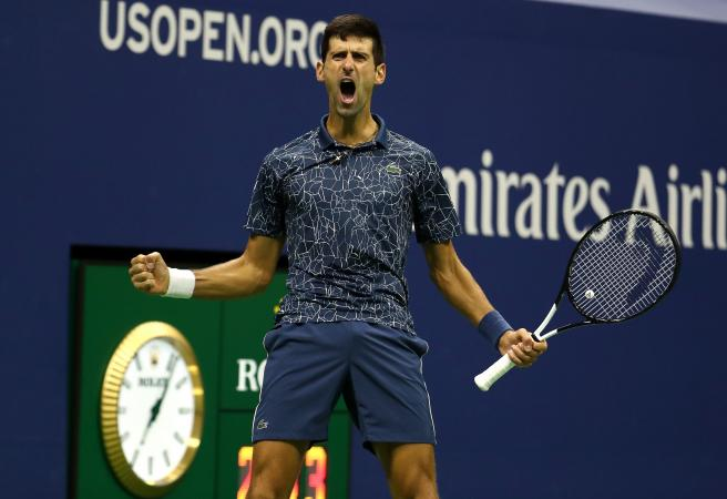 Novak Djokovic wins the US Open