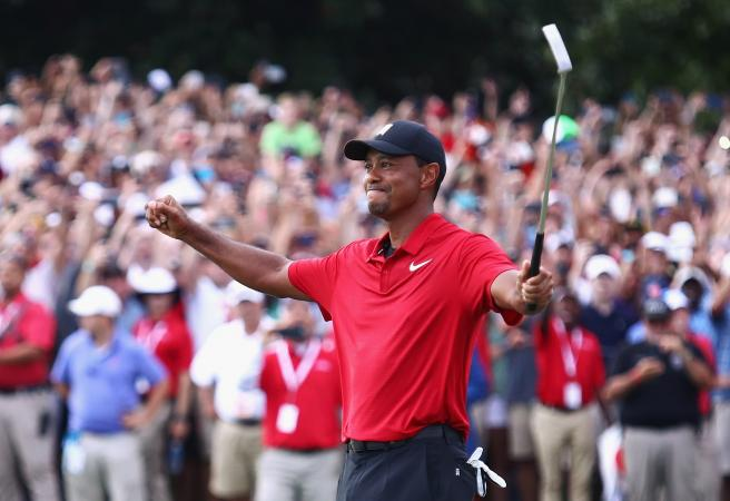Tiger Woods breaks five year drought