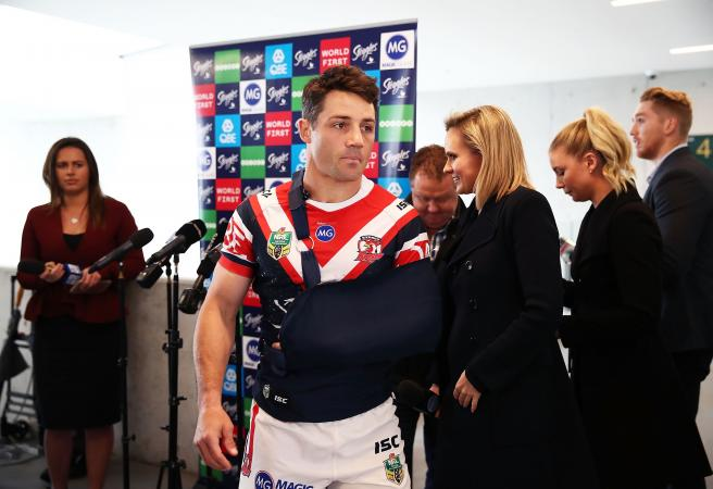 Cooper Cronk will play in the Grand Final