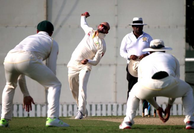 Nathan Lyon demolishes Pakistan A