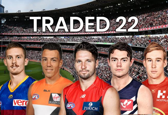 Traded 22: The best team of traded players