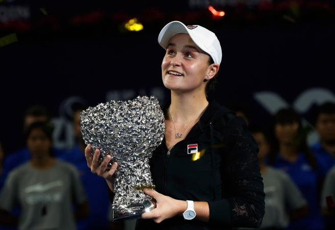 Ash Barty claims her third career title