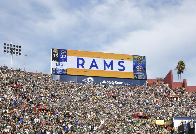 NFL moves Rams game from Mexico City to Los Angeles