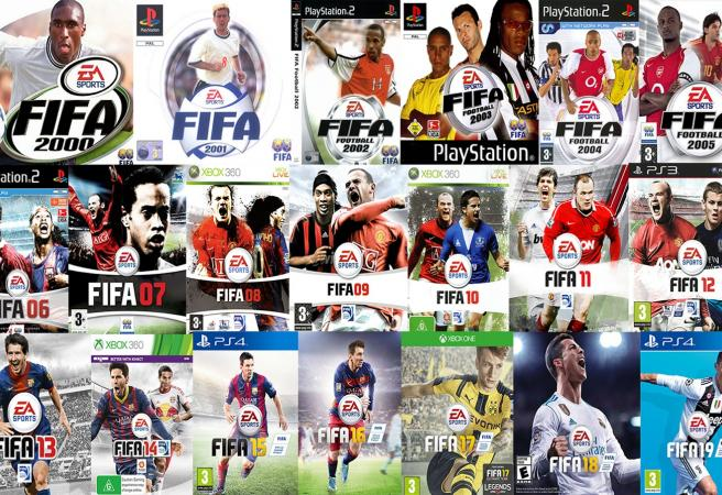 Ranking every FIFA cover from the last 20 years