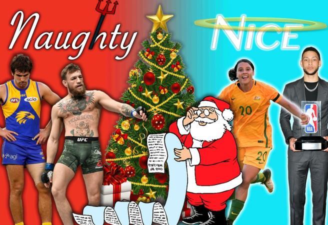 2018 in Sport: Santa's Naughty and Nice list