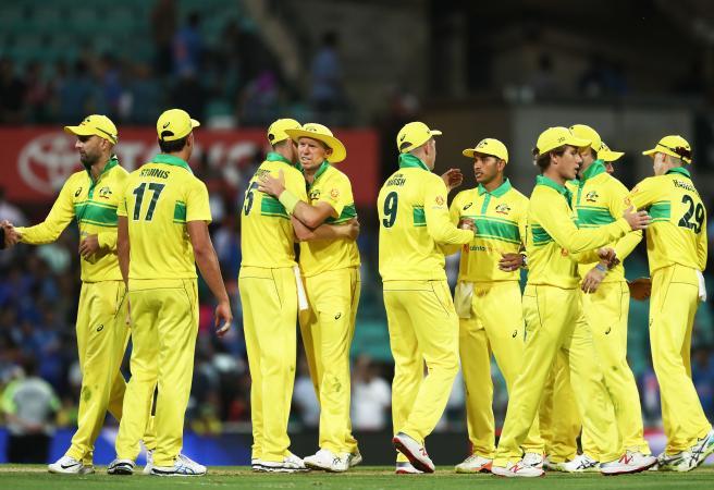 Australia's ODI squad for India announced