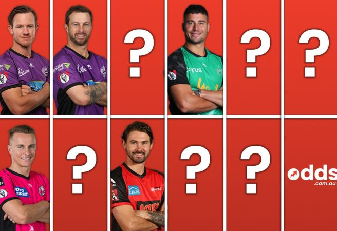 Odds.com.au's BBL08 Team of the Tournament