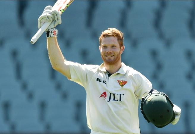 Tasmanian debutant slams big hundred