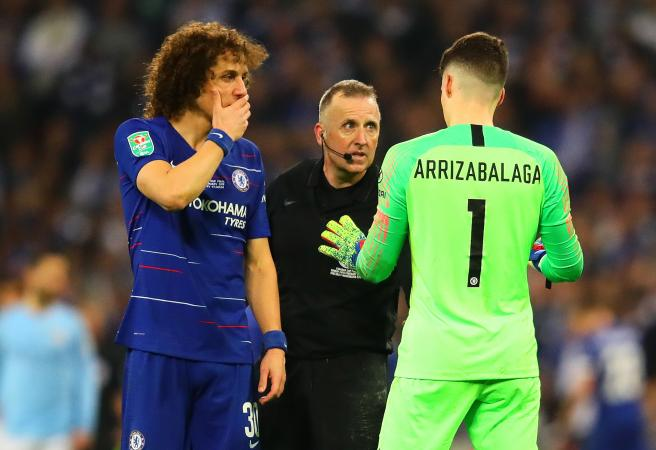 Chelsea goalkeeper fined for refusing to be subbed off
