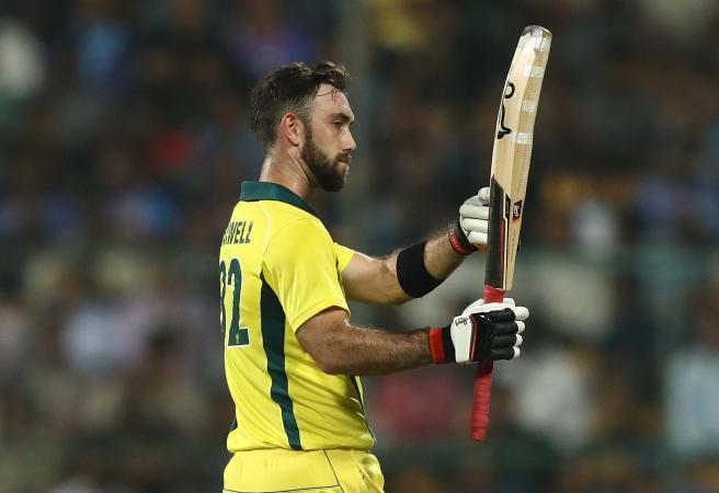 Maxwell goes berserk against India