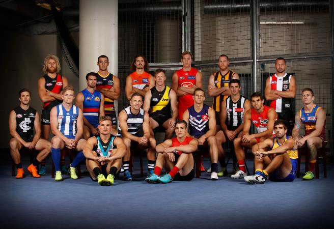 Every AFL club's captain for 2019