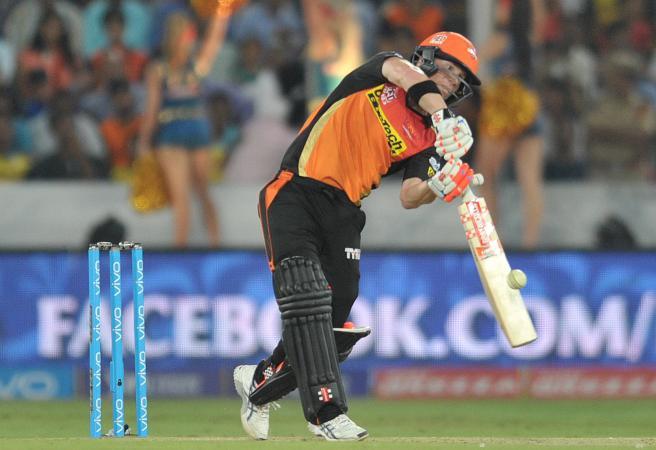 David Warner blasts IPL century
