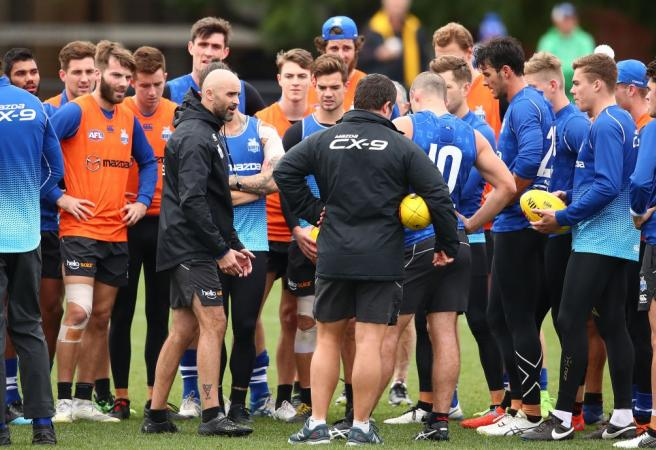 North Melbourne confirm senior coach