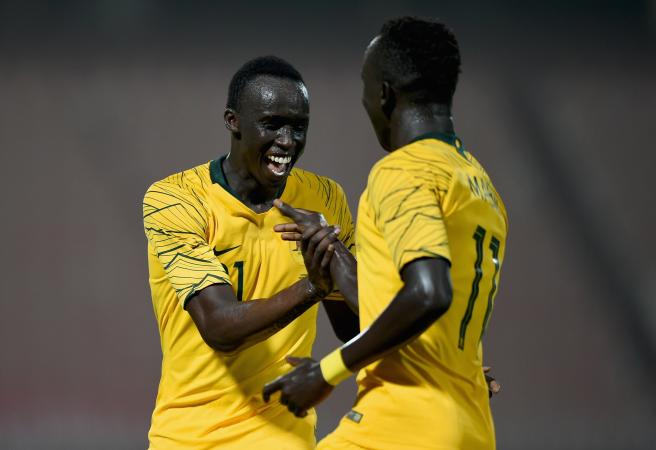 Socceroos flex their muscle against Kuwait