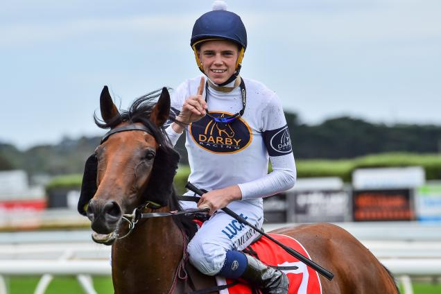 Callan Murray had a stint riding for Lindsay Park
