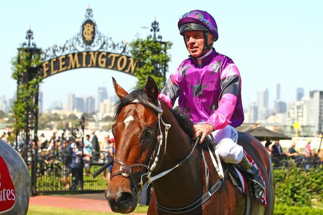 Darren Gauci will ride Ayers Rock in the Derby