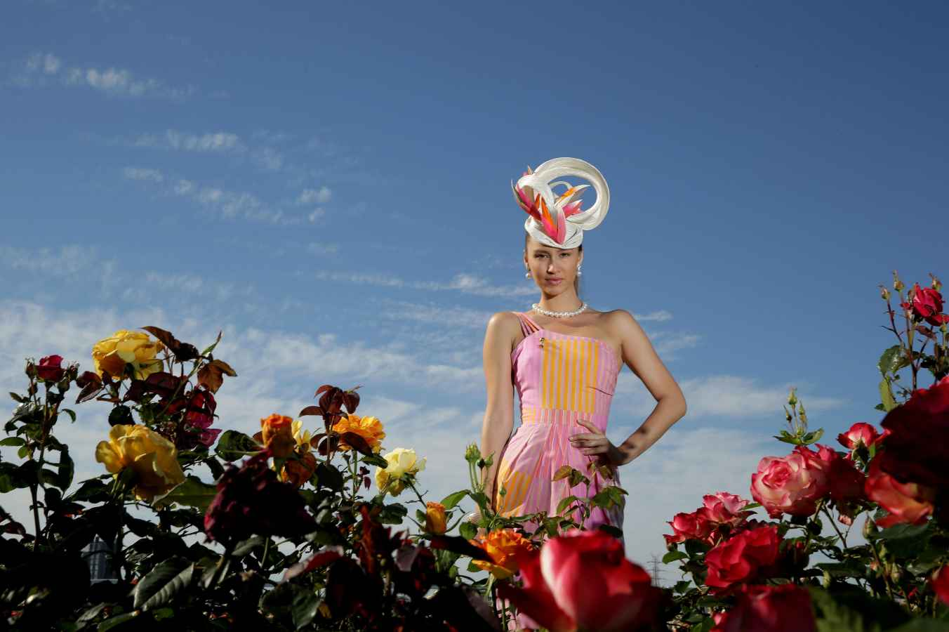 Hats and fascinators  The perfect headpiece for the 2018 spring carnival 74cb6442db6
