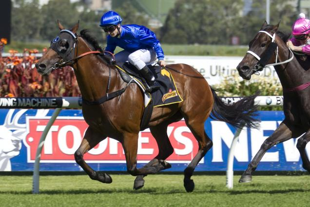 James Innes Jnr boots home Haussman for Godolphin