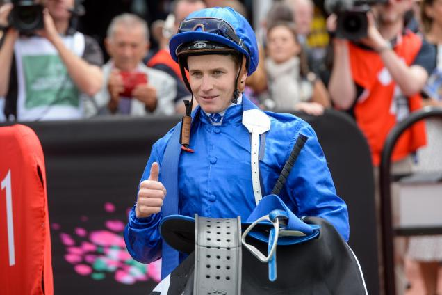James McDonald has vowed to return to the saddle