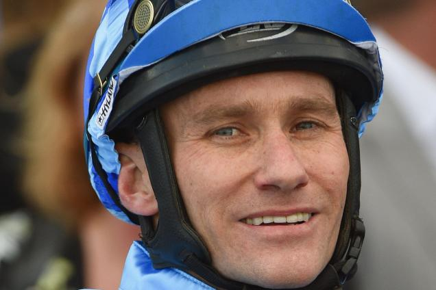 Luke Currie has a couple of strong rides on Derby Day