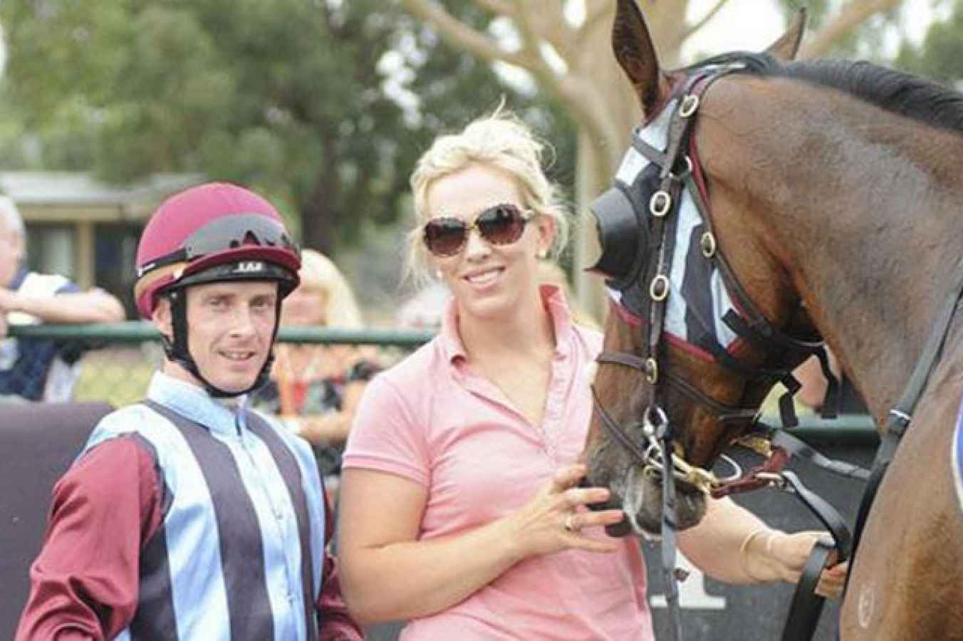 Amy Johnston vic trainer fined for swearing