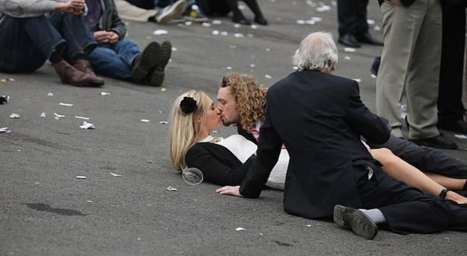 Racegoers Behaving Badly Ii