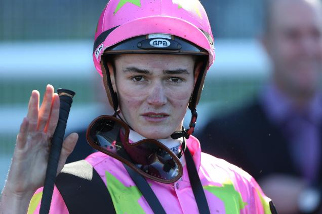 Regan Bayliss is now a senior jockey