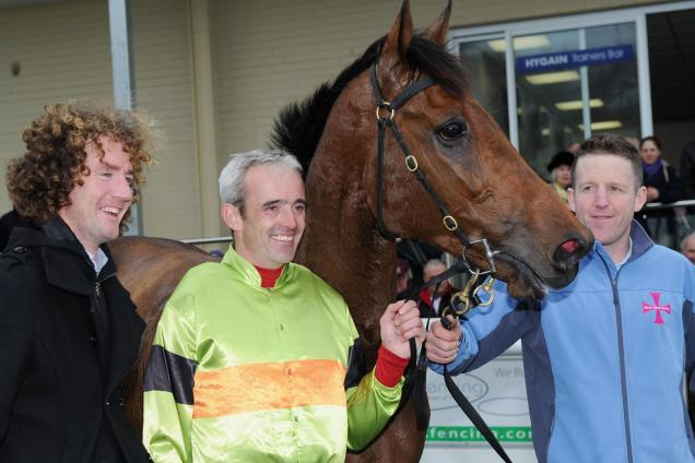 Ruby Walsh celebrated a win in Australia aboard Bashboy