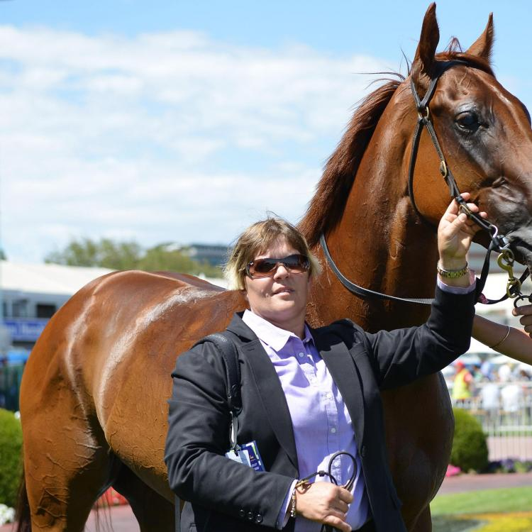 Trainer Desleigh Forster hoping for a successful day at Doomben
