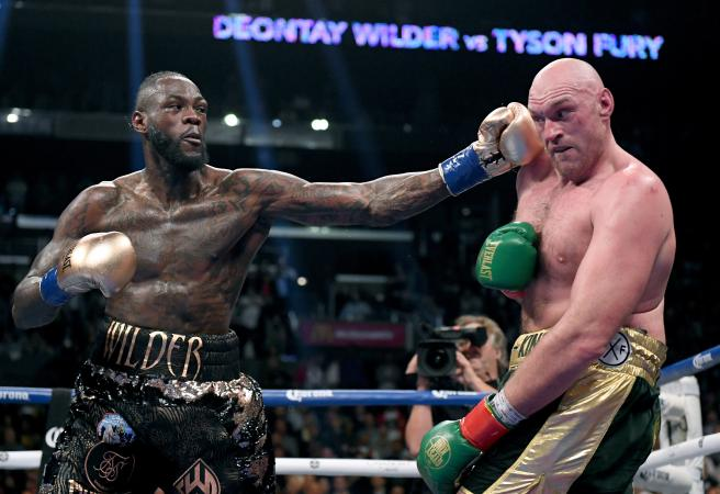 Undefeated: Tyson Fury survives knockdowns in Deontay Wilder draw